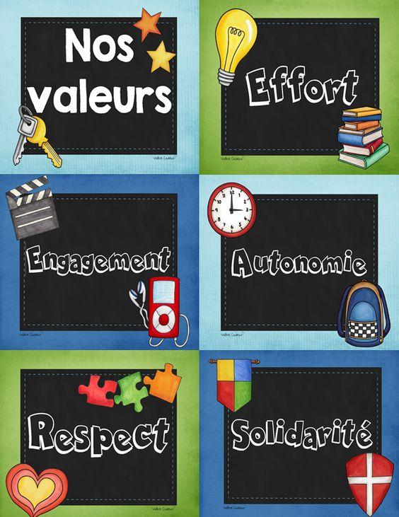valeurs école